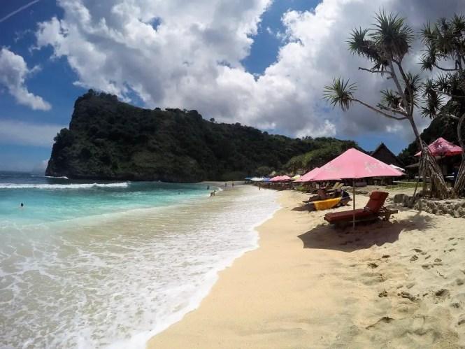 Atuh Beach in Nusa Penida, Indonesia
