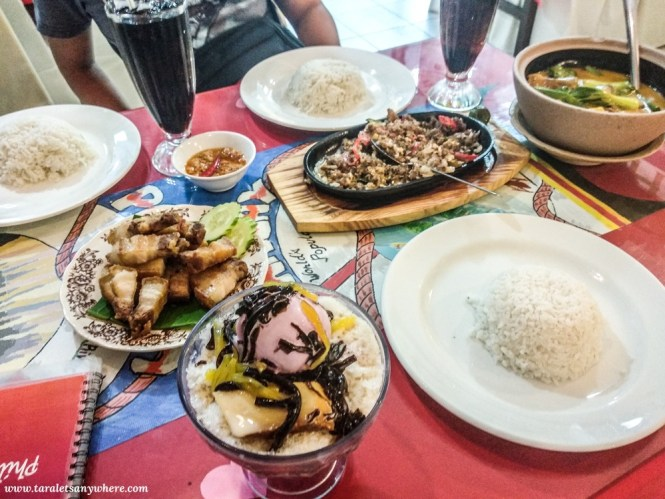 Filipino food in Mabuhay Laguna Restaurant, Kuala Lumpur