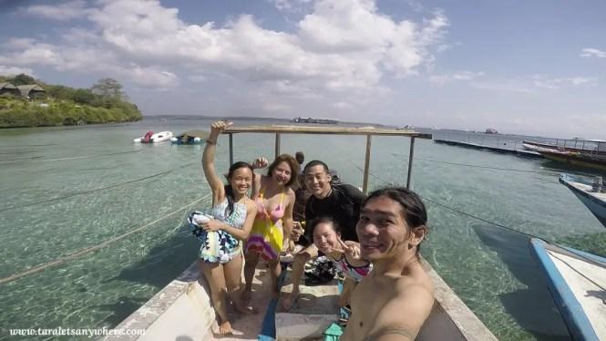 Island hopping in Nusa Penida