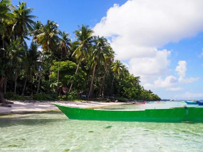Beach in Tomia Island, Wakatobi