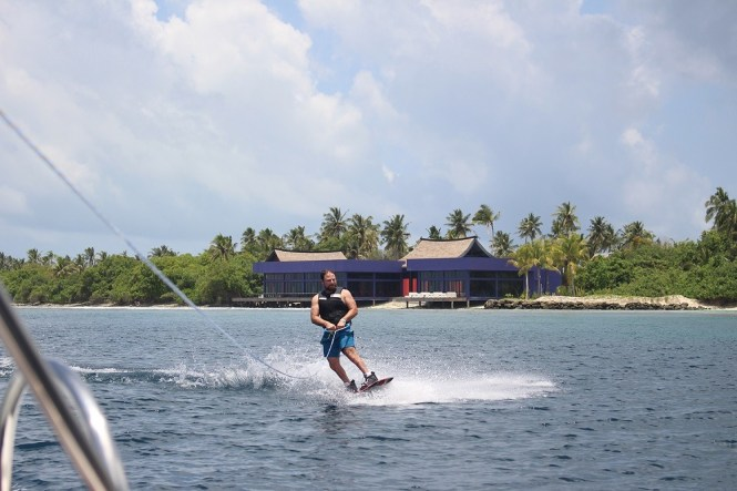 Things to do in Maldives - wakeboarding