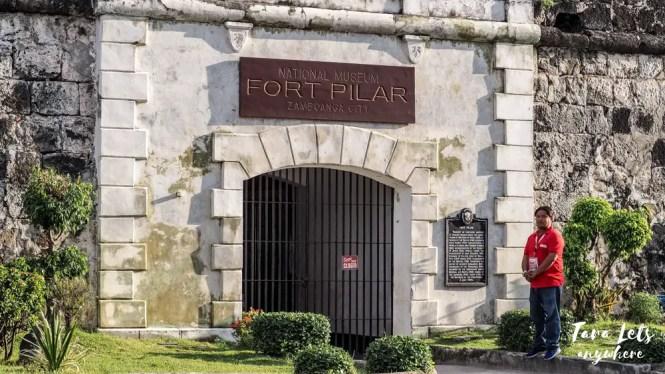Fort Pilar in Zamboanga City