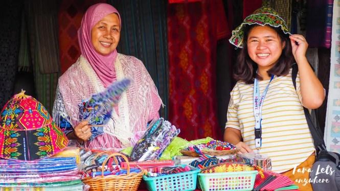 Kat in Yakan Weaving Village, Zamboanga City