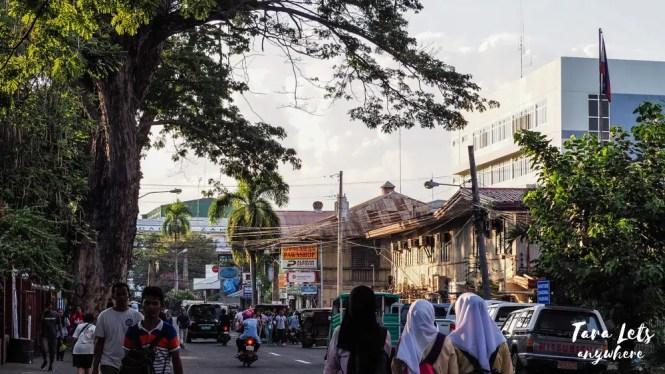 Street of Zamboanga City