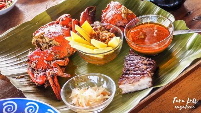 Vista del Mar Restaurant - curacha with special sauce