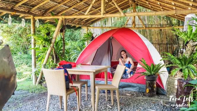 Glamping tent in San Rafael River Adventure