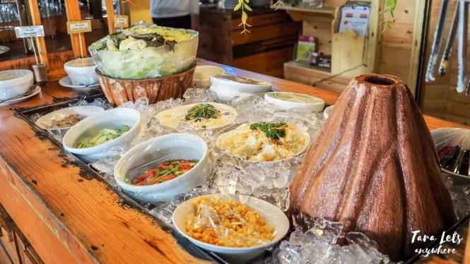 D Banquet buffet dessert