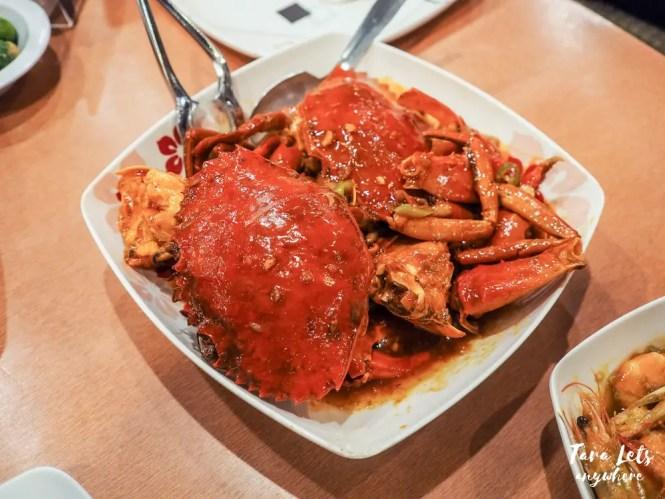 Seaside Daang Hari dampa - crabs in chili sauce