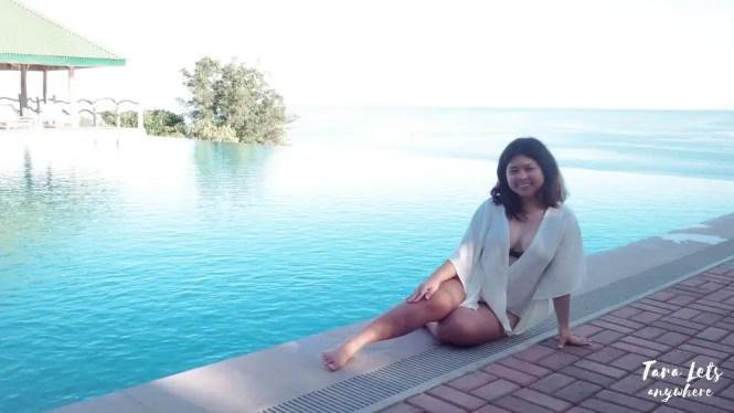 Infinity pool at Punta Verde Resort, Lobo, Batangas