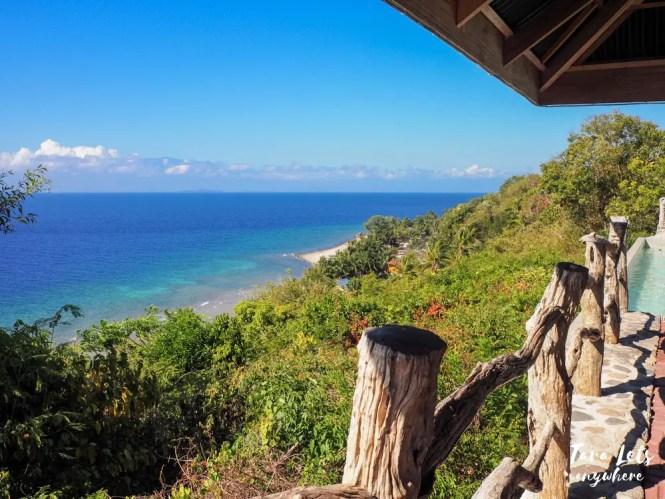 Ocean view at Punta Verde Resort, Lobo, Batangas