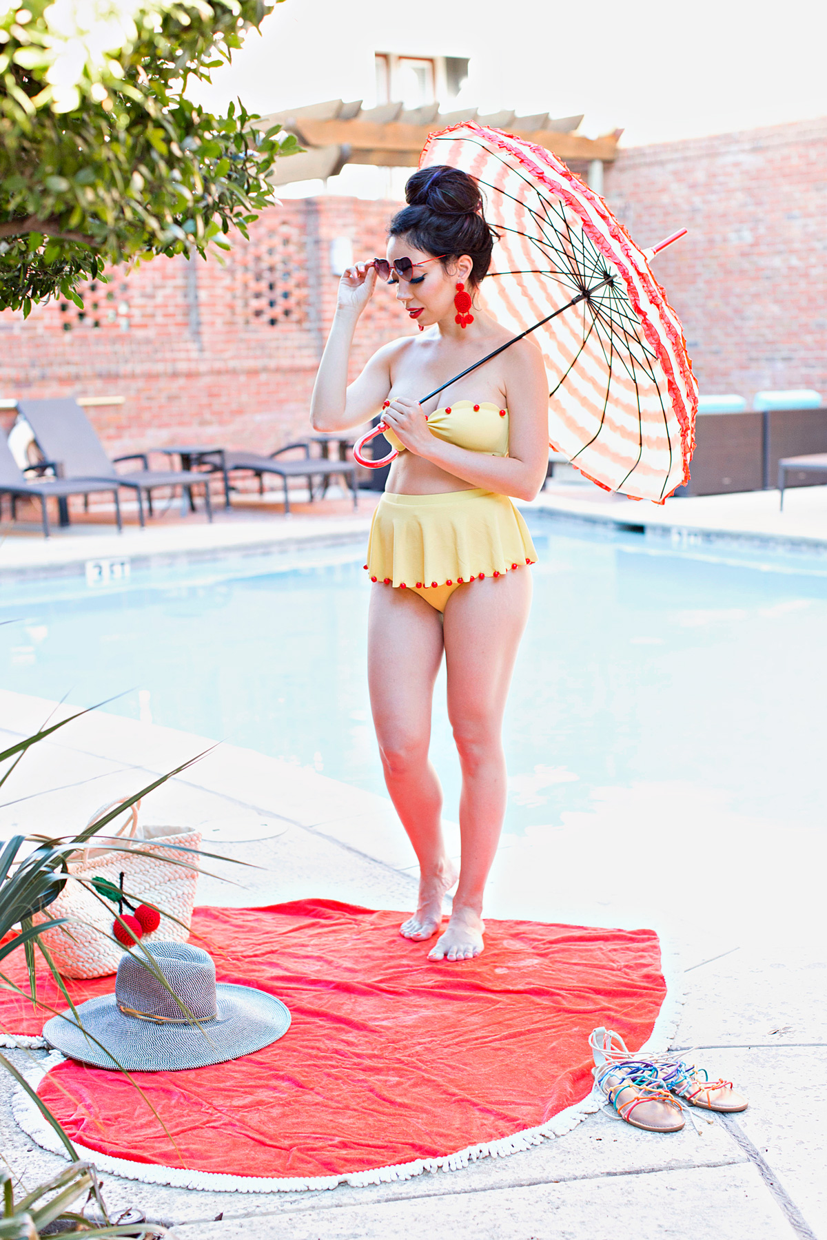 swimsuit series part 4 - marysia bathing suit