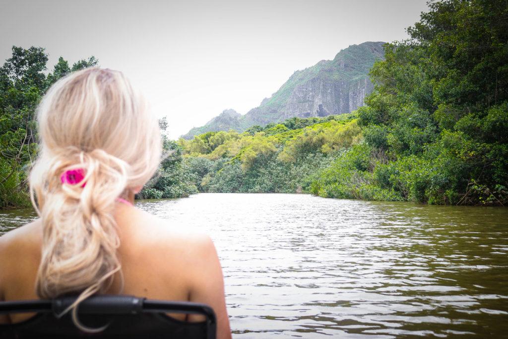 Kayaking Kauai