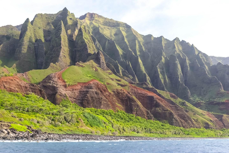Na Pali Coast Cliffs