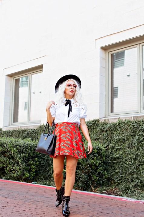 alice & olivia skirt set