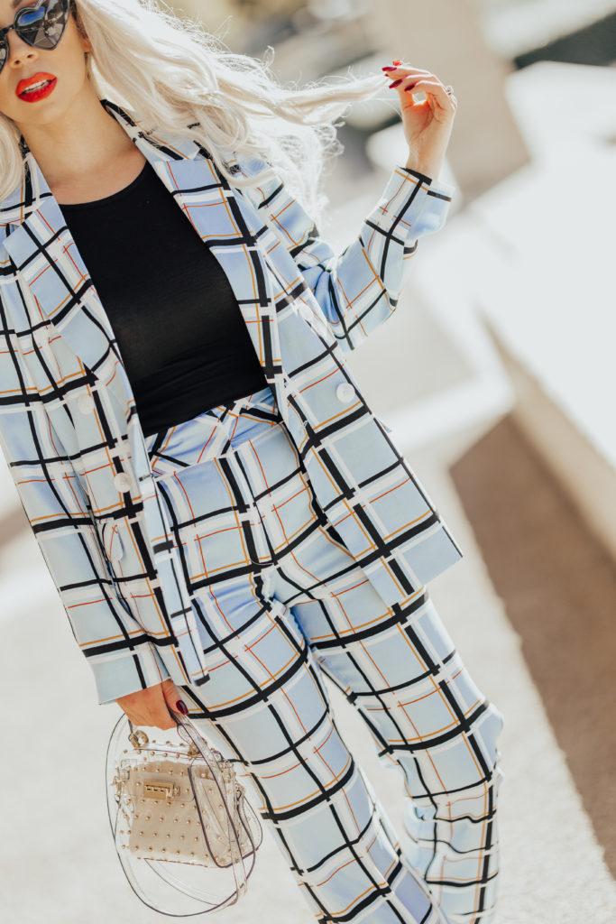 topshop suit
