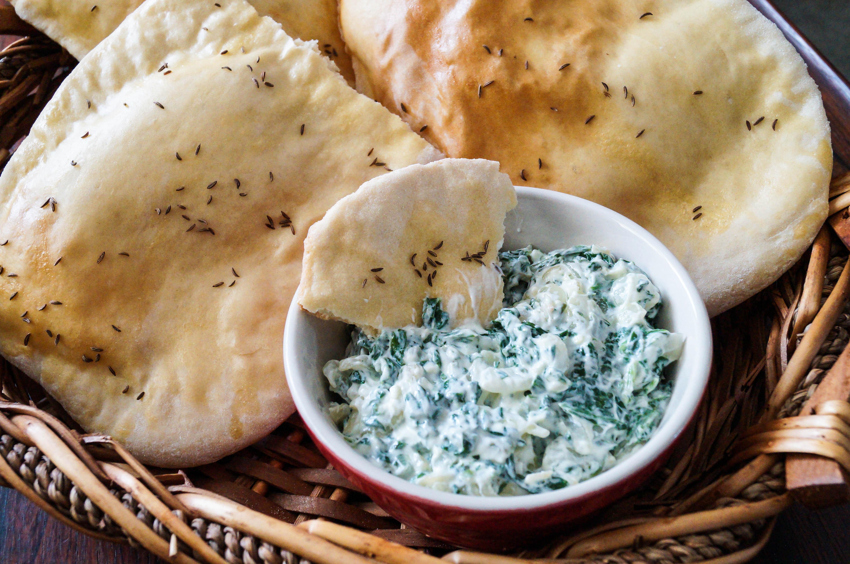 Sabse Borani (Spinach Yogurt Dip)