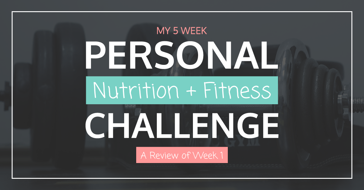 Nutrition Fitness Challenge Week 1 FB | Tara Tierney