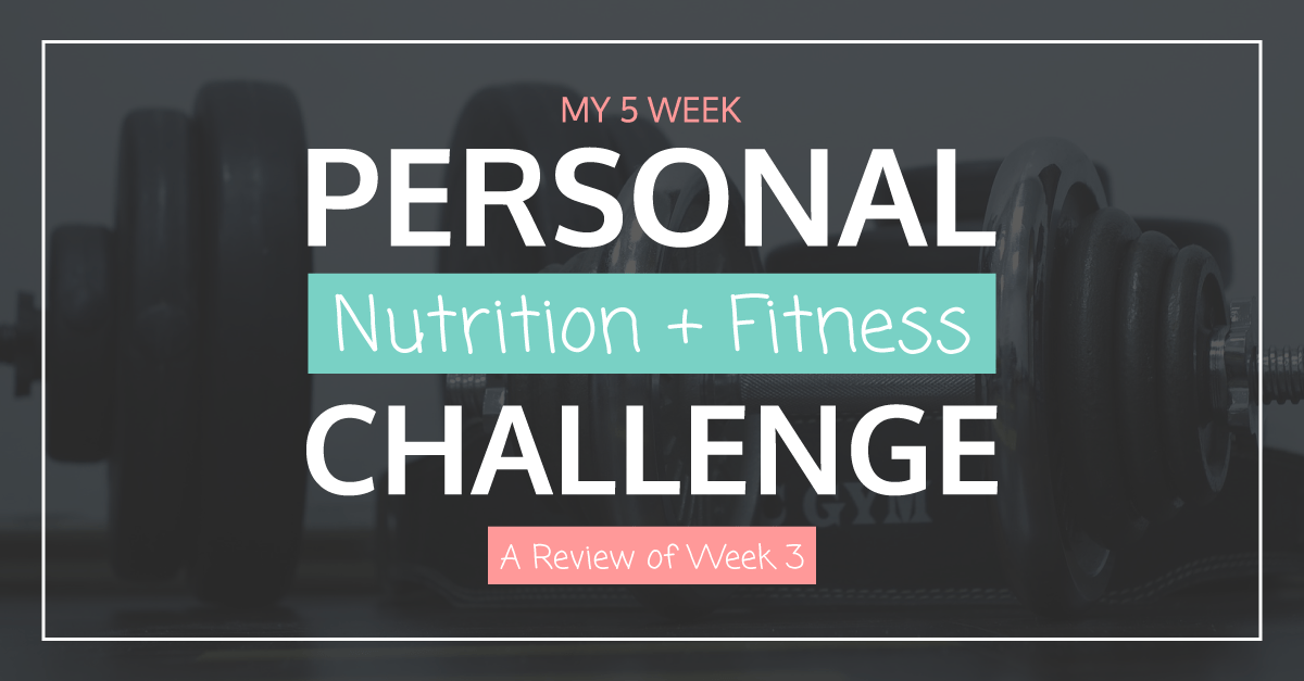 Nutrition Fitness Challenge Week 3 FB | Tara Tierney