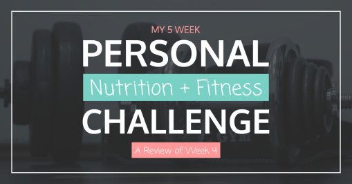 Nutrition Fitness Challenge Week 4 | Tara Tierney