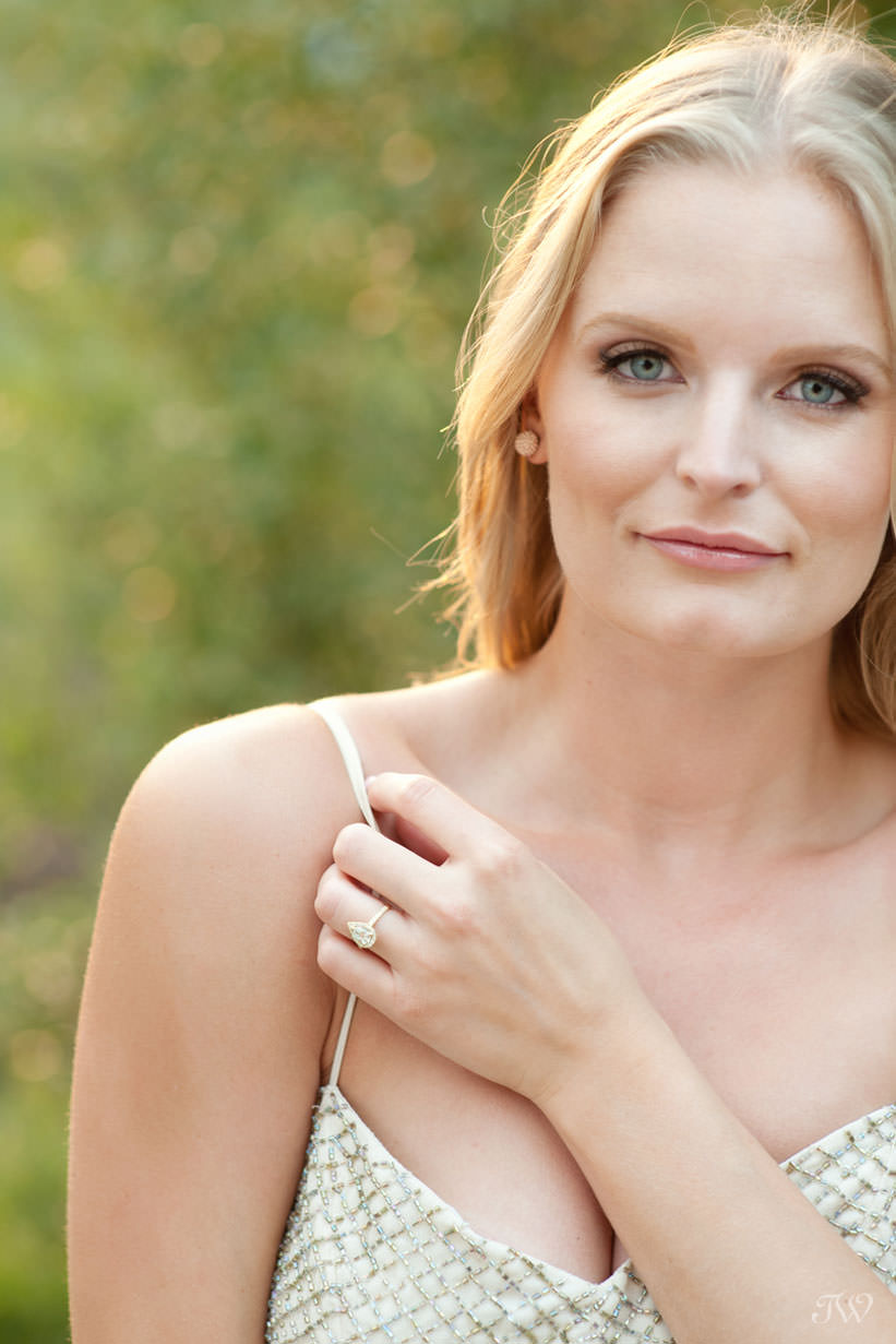 Meet Calgary wedding photographer Tara Whittaker at Calgary wedding show - Engaged