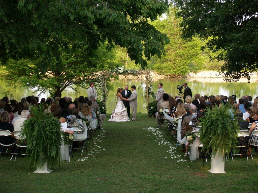 wedding ideas for outside weddings mississippi outdoor wedding venue at tara wildlife 28152