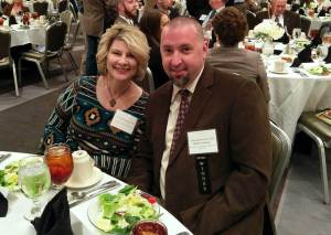 Bobby and Jane Culbertson at the Awards Luncheon