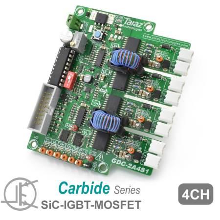 GDC-2A4S1 SiC Gate Driver Module Board