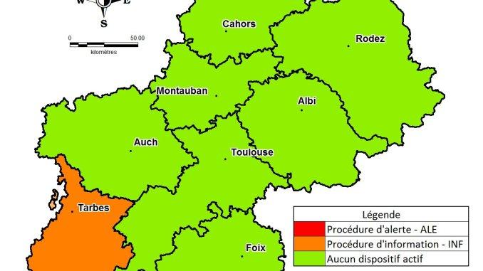 Pollution Air Tarbes Hautes Pyrénées