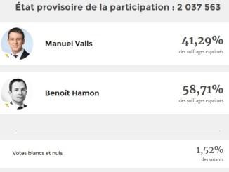 Benoit Hamon candidat élection présidentielle