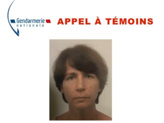 Disparition inquiétante, appel à témoins de la gendarmerie