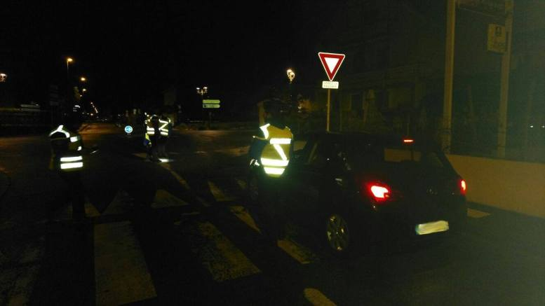 340 voitures contrôlées dans la nuit de samedi à dimanche dans les Hautes Pyrénées