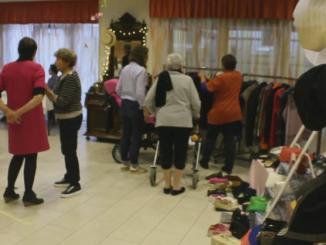 Tarbes, les résidents de la maison de retraite stars d'un défilé de mode