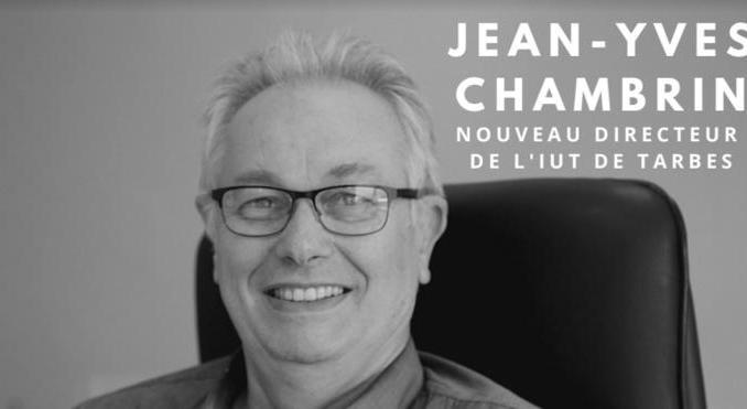 Jean Yves Chambrin nouveau directeur de l'IUT de Tarbes