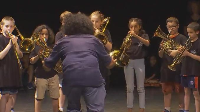 Tarbes, l'Orchestre à l'école a donné son premier concert public