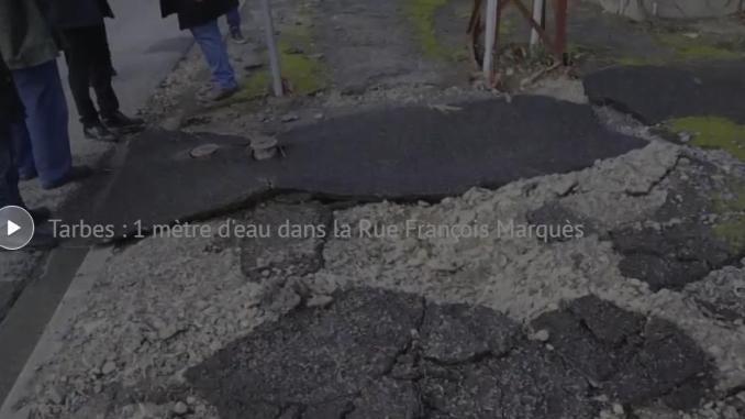 Tarbes, l'heure est à la décrue et au bilan des inondations