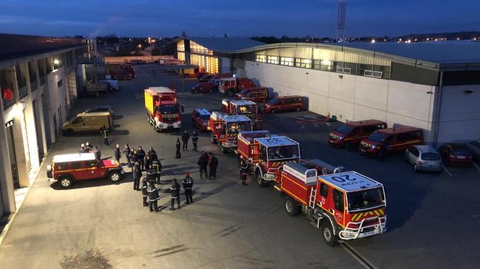 Tempête Gloria. Des pompiers de Haute Garonne en renfort dans les Pyrénées Orientales
