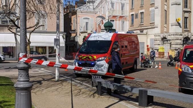 alerte incendie mairie Tarbes