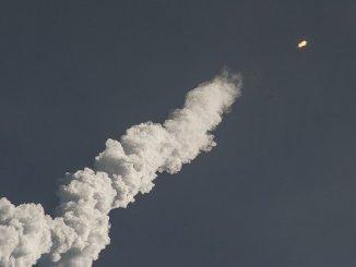 La fusée chinoise s'est désintégrée au dessus de l'océan indien
