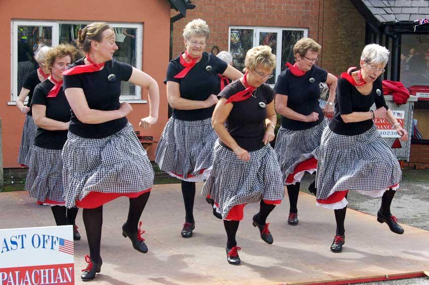 Cast Off Appalachian dance group