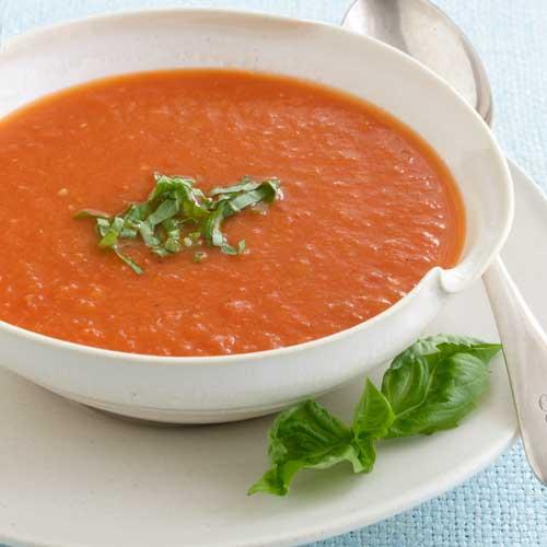 طريقة عمل شوربة الطماطم الباردة طريقة