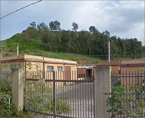 Qui nascerà il museo storico del motorismo siciliano e della Targa Florio - foto Google 2008