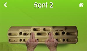 Erste 2 Finger
