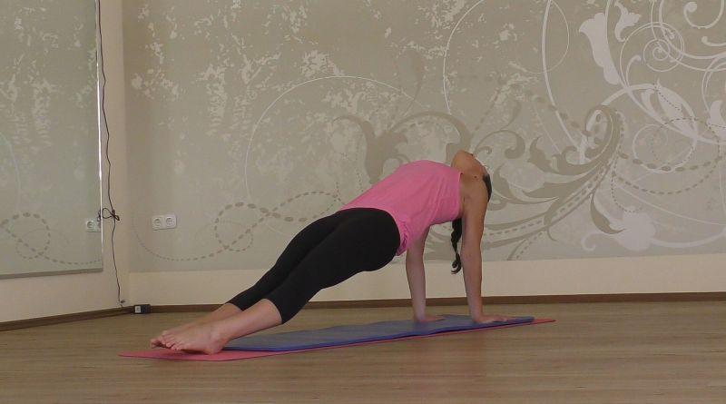 Yoga - Schiefe Ebene