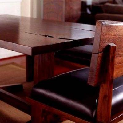 Custom Reclaimed Dining Table w/EM2000wvx