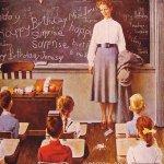 Norman Rockwell Teacher