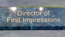 Director of First Impressions