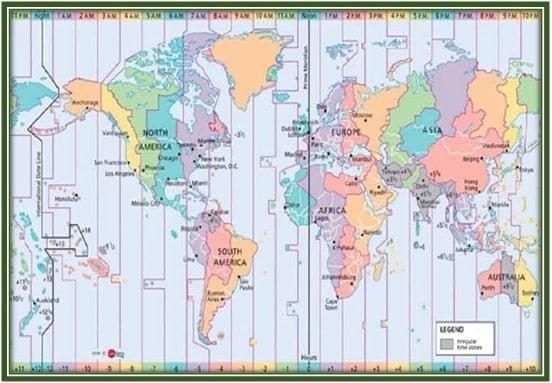 पूर्वी देशान्तर रेखा तथा पश्चिमी देशान्तर