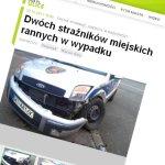 Poważny wypadek na ul. Handlowej