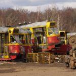 Cmentrzysko tramwajów powstało przy spalarni