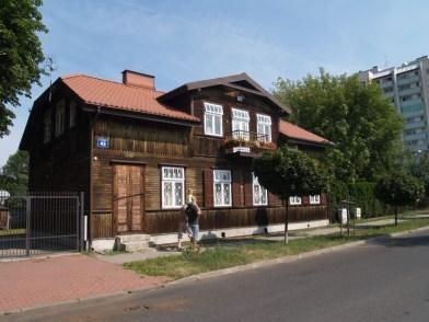 Drewniak przy ul. Siedzibnej